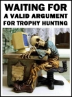 Trophy hunters - Waiting skeleton 01 slumped