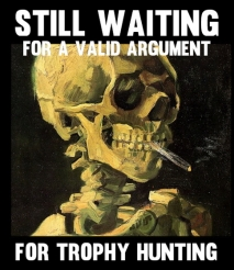 Trophy hunters - Waiting skeleton 02 smoking