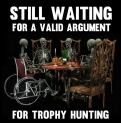 Trophy hunters - Waiting skeletons 13 table