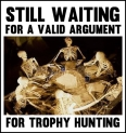 Trophy hunters - Waiting skeletons 14 table