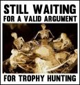 Trophy hunters - Waiting skeletons 14 table