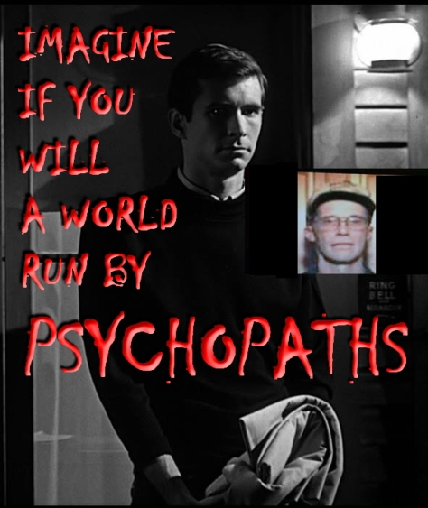 Trophy hunters - Psycho imagine Norman Bates