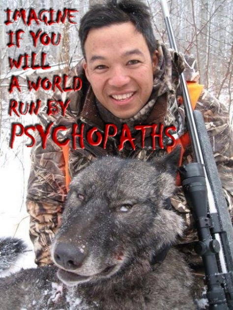 Trophy hunters - Psychos imagine a world wolf Chinese