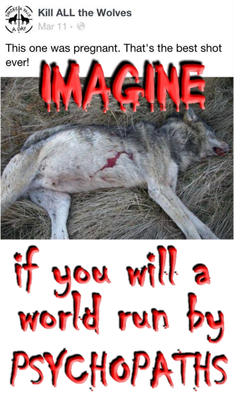 Trophy hunters - Psychos imagine a world wolf pregnant