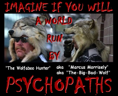 Trophy hunters - Psychos kill all wolves 1