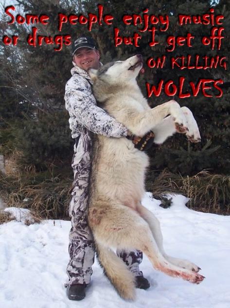 Trophy hunters - Wolves I get off on killing
